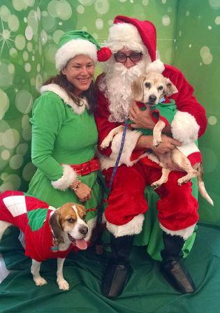 Santa Ken and Colleen